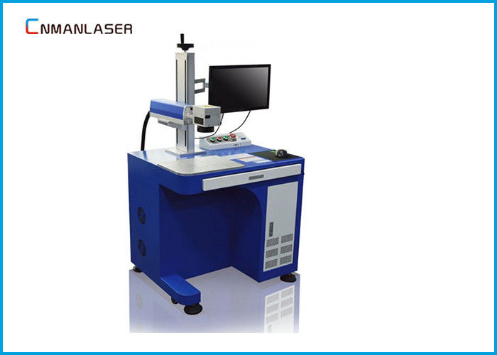 Black Color Marking Metal Nonmetal 20W JPT Mopa Raycus Fiber Laser Marking Machine
